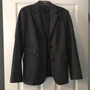 J. Crew tweed blazer